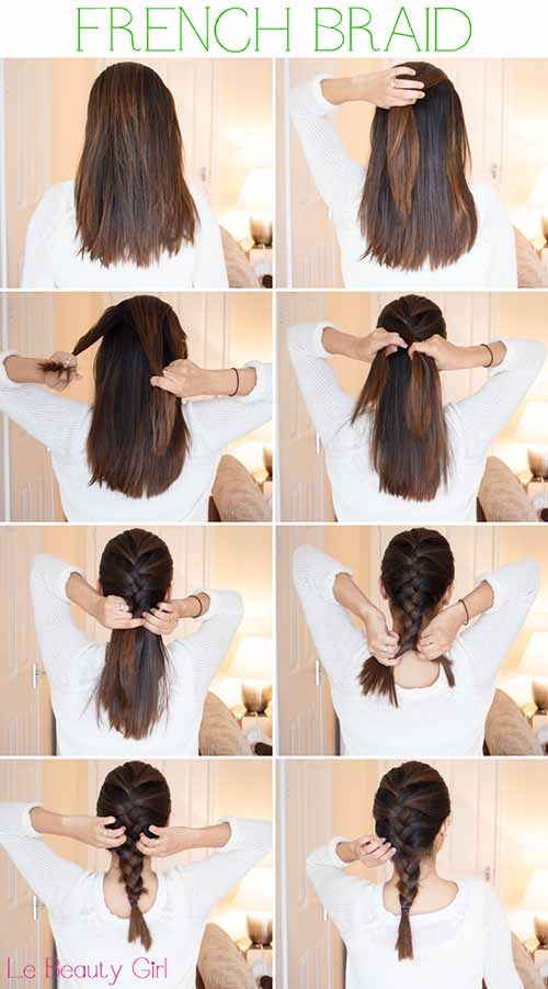 2. French Braid