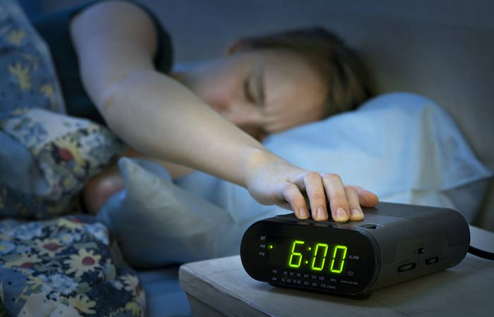 2. Hitting That Much-Beloved Snooze Button