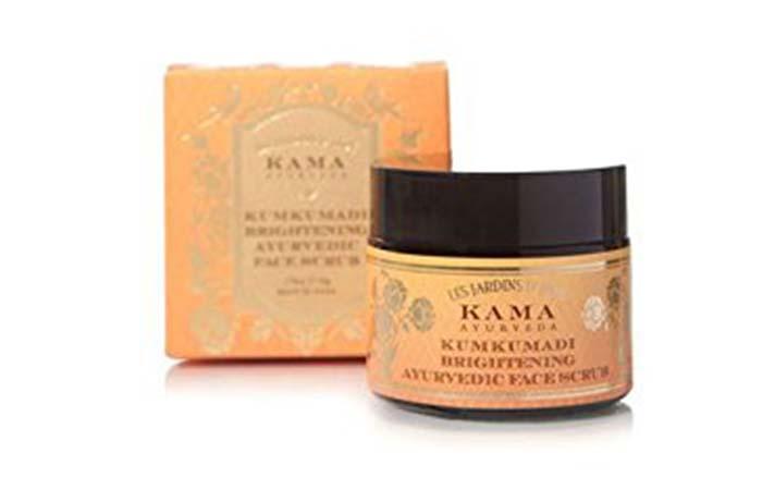 2. Kama Ayurveda Kumkumadi Brightening Face Scrub