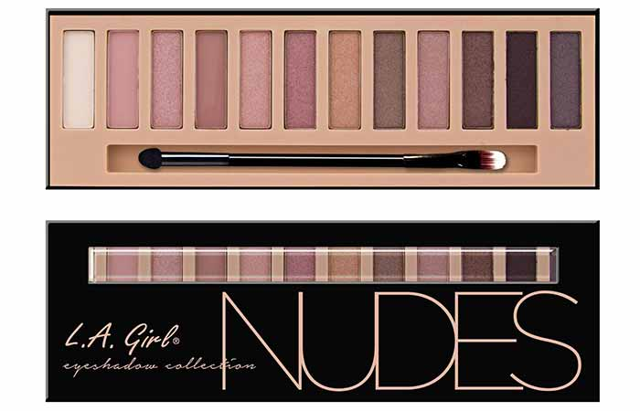 L.A Girl Beauty Brick Eyeshadow, Nudes