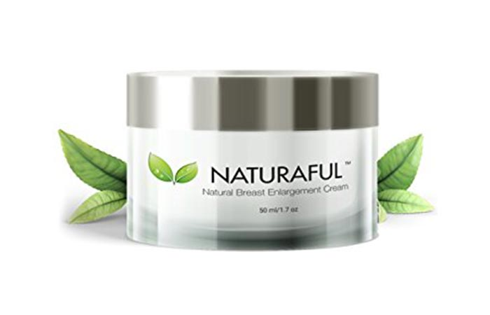 2. Naturaful Breast Growth Cream