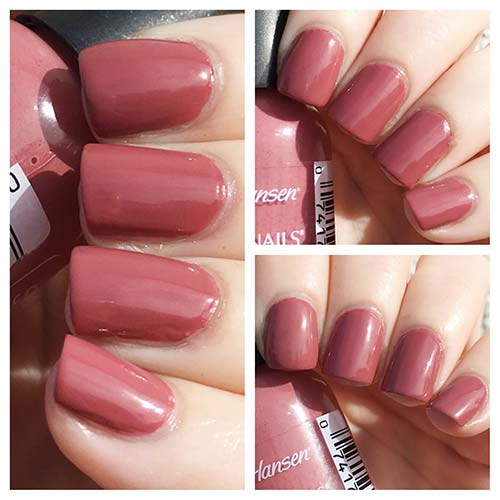 "2. Sally Hansen Hard As Nails Xtreme Wear In ""Mauve Over"" - Best Drugstore Nail Polish"