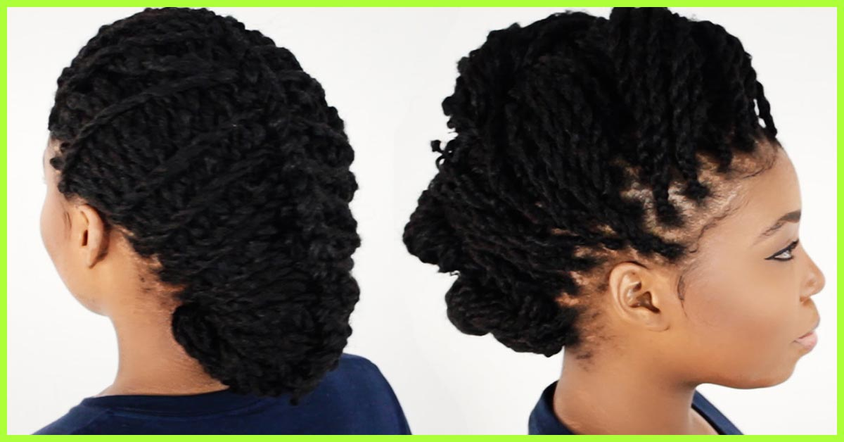 20 Irresistible Ways To Style Your Kinky Twists