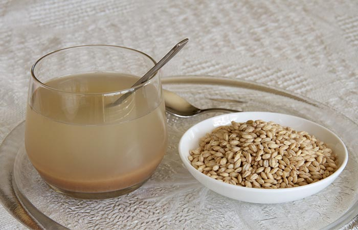 3. Barley Water