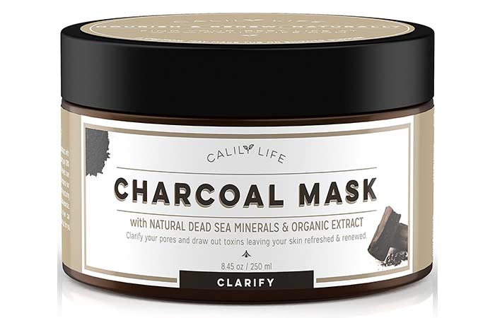 Best Charcoal Face Masks - Calily Life Charcoal Face Mask