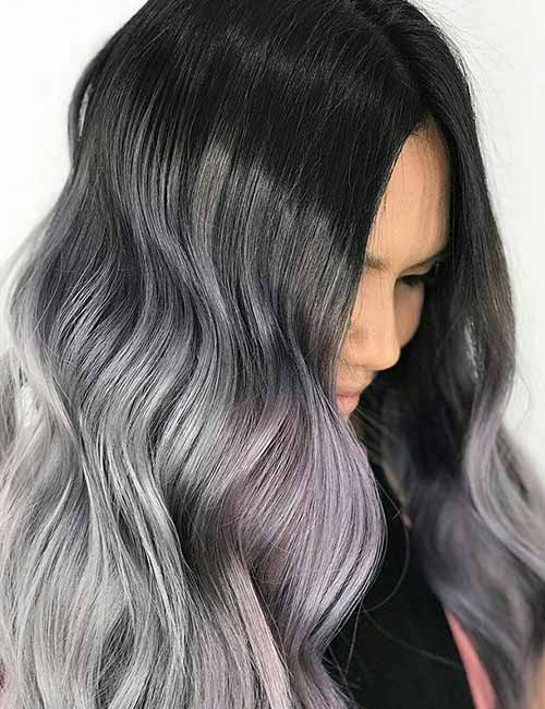 3. Dark Gray Ombre