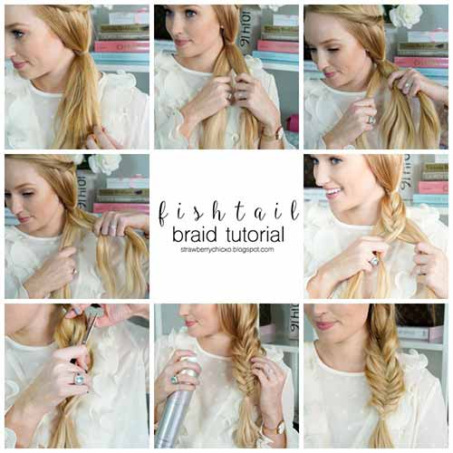 3. Fishtail Braid