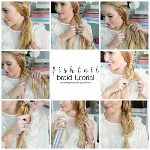 3. Fishtail Braid
