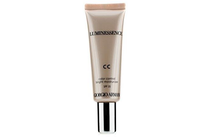 Best CC Creams - Giorgio Armani Luminessence CC Cream
