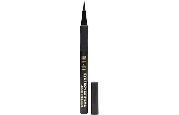 Amazing Drugstore Waterproof Liquid Eyeliner - 3. Milani Eye Tech Extreme Liquid Eyeliner
