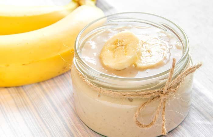 4. Banana Puree