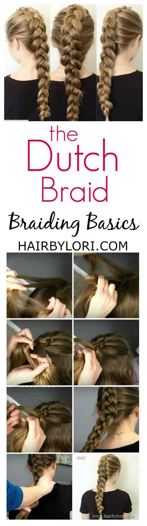 4. Dutch Braid
