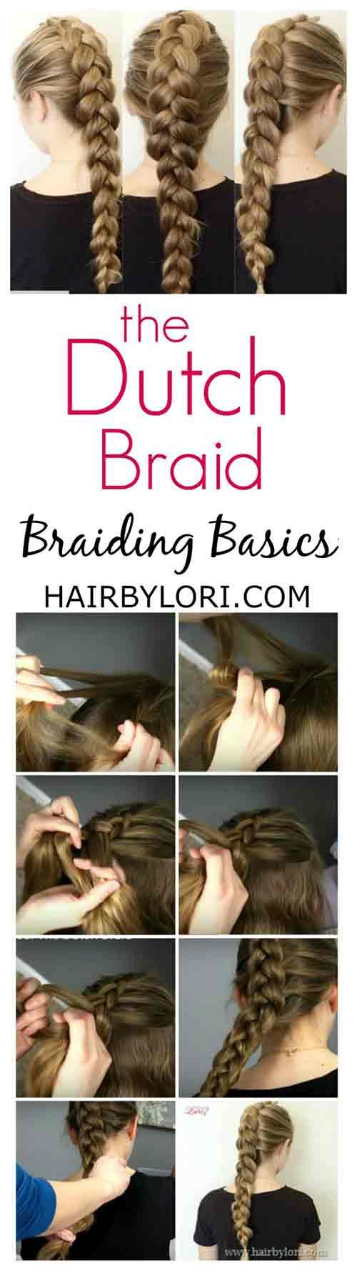 4. Dutch Braid
