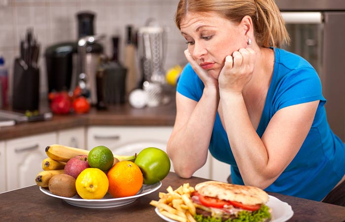 4. Having An Unhealthy Dinner Feast