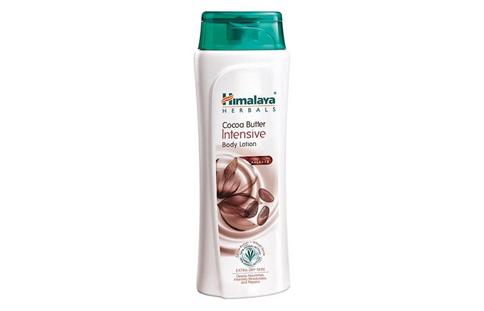 4. Himalaya Herbals Intensive Cocoa Butter Body Lotion