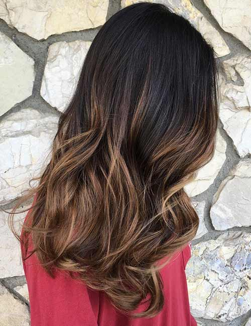 4. Light Brown Ombre