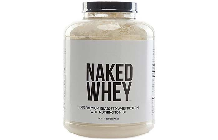 4. Naked Nutrition Whey Protein