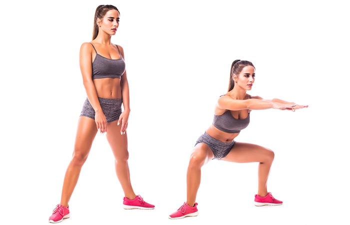 How To Do Squats - PlieSumo Squats