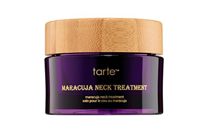 4. TarteMaracuja Neck Treatment