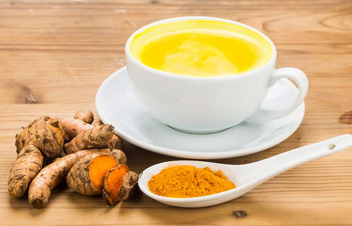 4. Turmeric With Milk