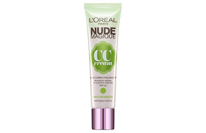 5. L'Oréal Nude Magique Anti-Redness CC Cream