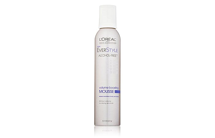 5. L'Oreal Paris EverStyle Volume Boosting Mousse