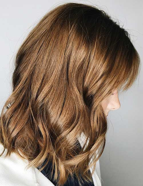Light Chocolate Brown Hair Color