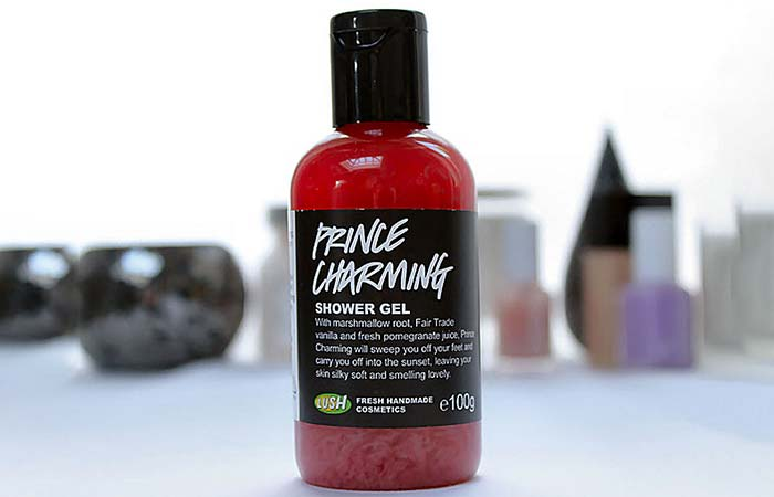 5. Lush Cosmetics Prince Charming Shower Gel