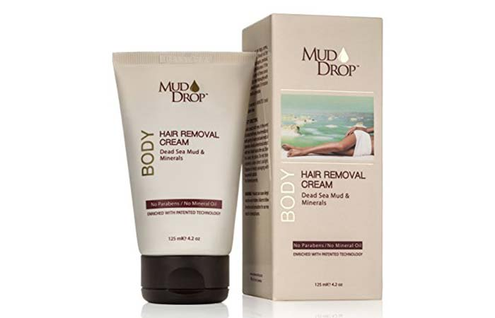5. Mud Drop Hair Removal Cream