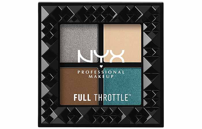 NYX Full Throttle Shadow Palette in Stunner