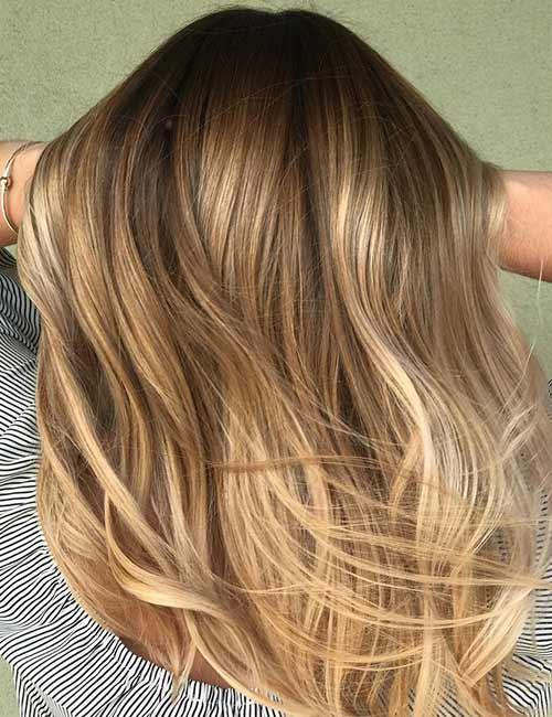 Warm Blonde Hair Color