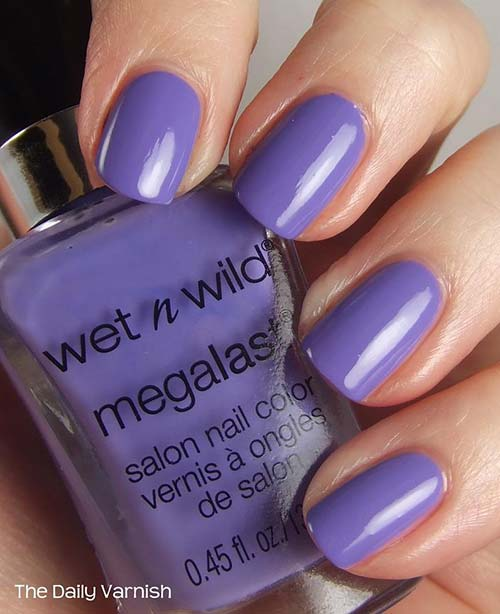 "5. Wet N' Wild Megalast Nail Color In ""On a Trip"" - Best Drugstore Nail Polish"