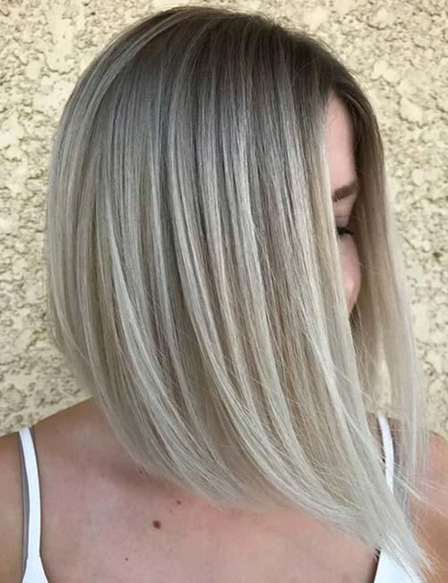 6. Ash Blonde Melt