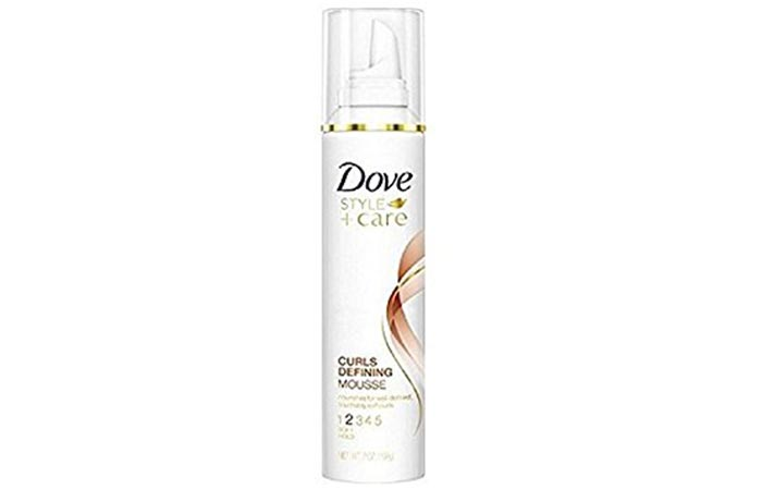 6. Dove STYLE+care Curls Defining Mousse