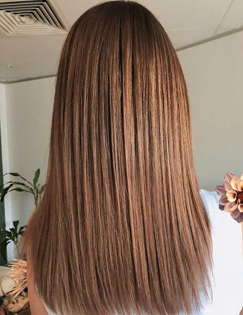 20 gorgeous light brown hair color ideas heavy light brown highlights pmusecretfo Gallery