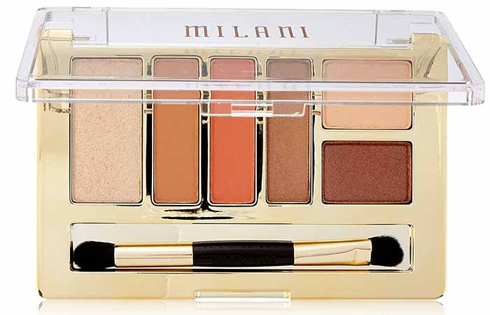 Milani Everyday Eyes Eyeshadow Palette in Earthy Elements
