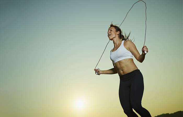 Fat Burning HIIT Workouts - Rope Jumping