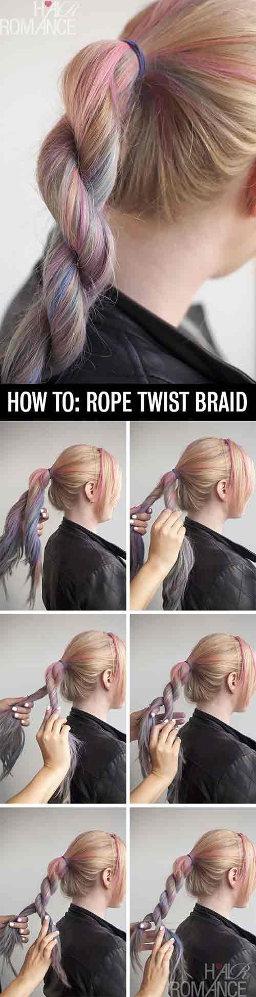 6. Rope Twisted Braid