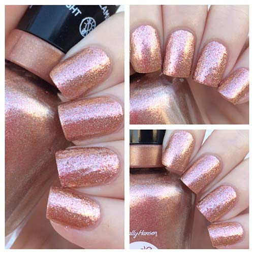 "6. Sally Hansen Miracle Gel Collection In ""Terra Coppa"" - Best Drugstore Nail Polish"