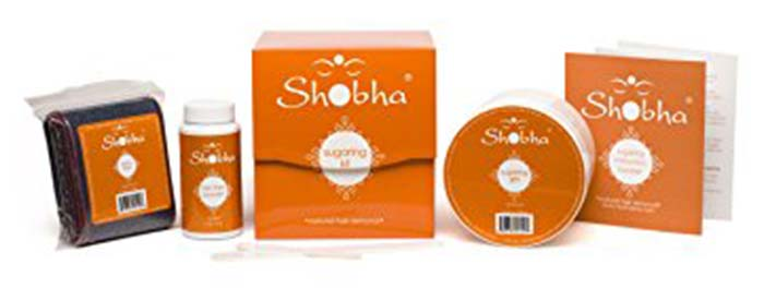 6. Shobha Sugaring Gel Hair Removal