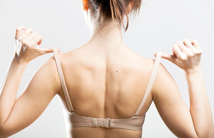 6. Your Shoulders Have Strap Marks