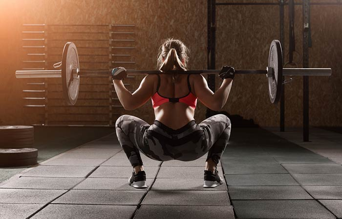 How To Do Squats - Barbell Sumo Squat