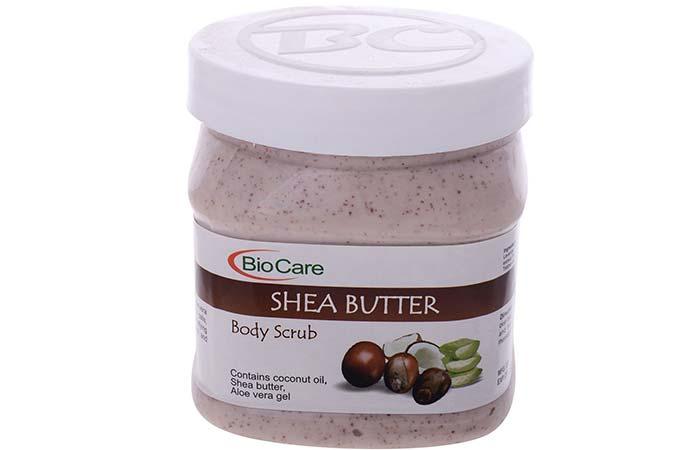 7. Biocare Shea Butter Body Scrub