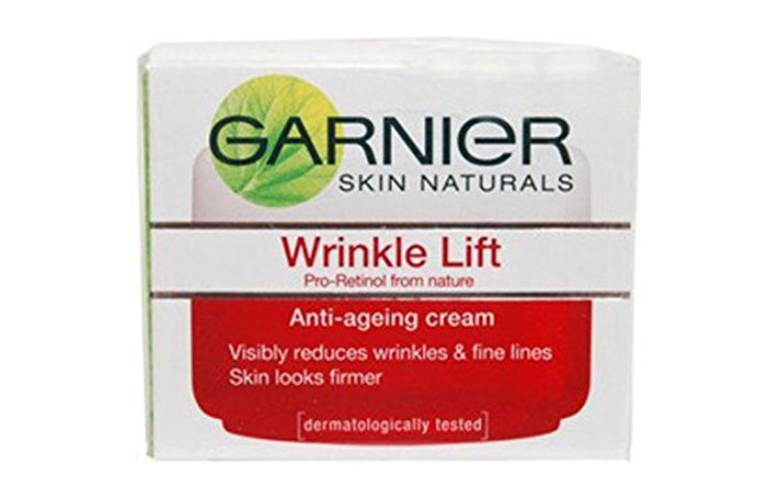 7. Garnier Wrinkle Lift Anti-Ageing Cream