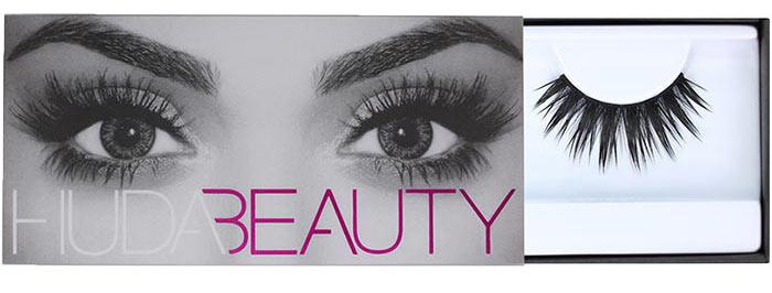 7. Huda Beauty Lashes in Lana #10