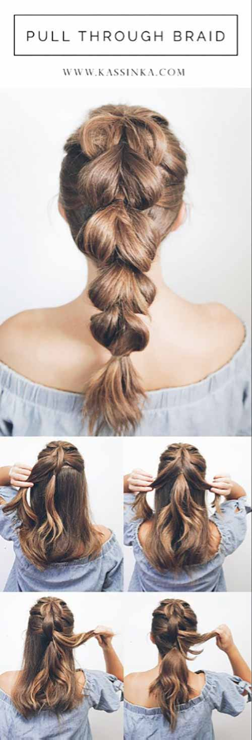 7. Pull Through Braid
