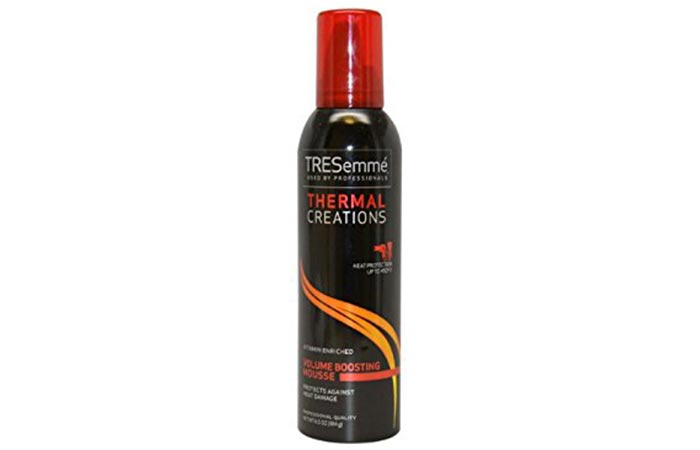 7. TRESemme Thermal Creations Volumising Mousse