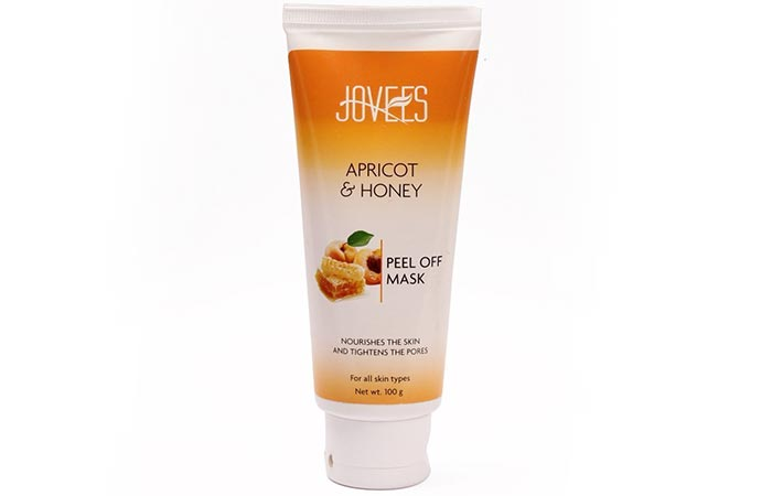 7.Jovees Apricot and Honey Peel Off Mask