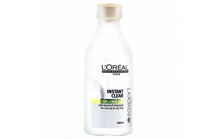 8. L'Oreal Professionnel Instant Clear Anti-Dandruff Shampoo