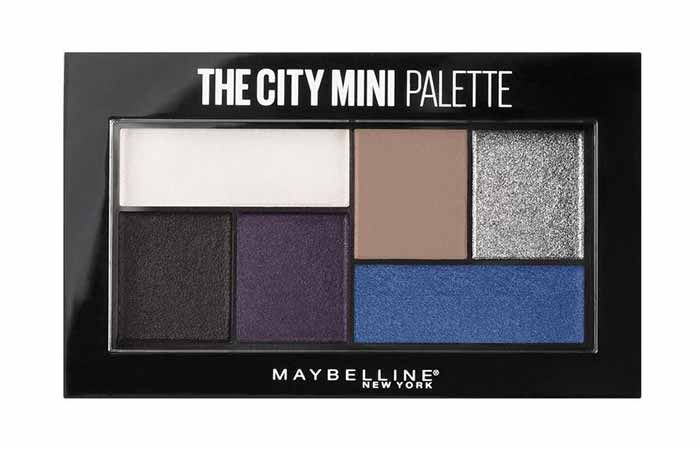 Maybelline New York City Mini Eyeshadow Palette in Concrete Runway